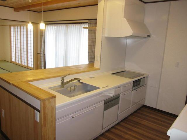 新築伊那市ソーラーK-3邸 キッチン