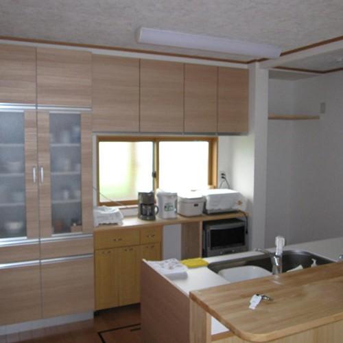 伊那市リフォームI-2邸 キッチン2