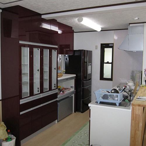伊那市リフォームJ邸 キッチン