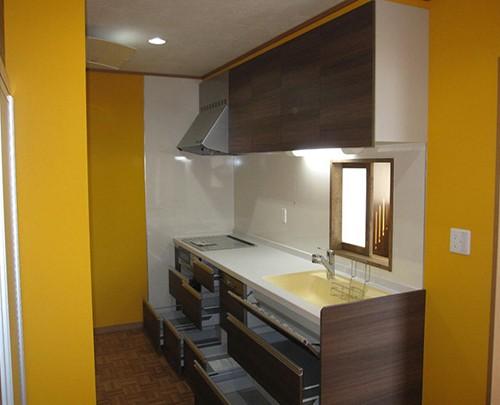 伊那市Y-1邸 キッチン