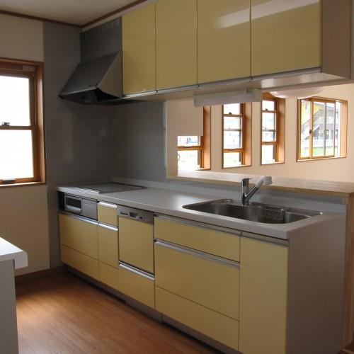 伊那市新築N-1邸 キッチン