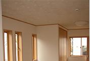 天井材ホルマリン吸収分解(健康快適天井材)