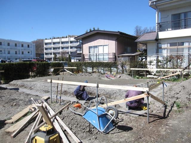 基礎工事開始 Kt様邸