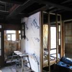 古民家改修工事−大工造作㈰