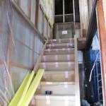 古民家改修工事−大工造作㈯階段新設