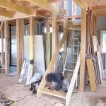 伊那市美篶St様邸-大工造作−階段取付け