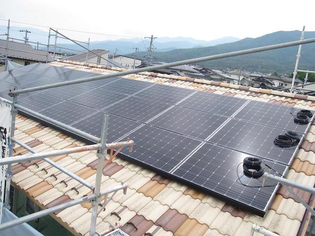 太陽光システム設置-伊那市中箕輪im様邸