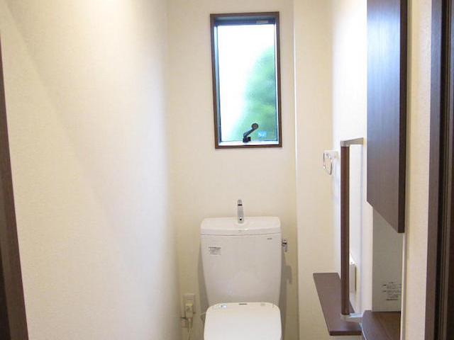 トイレ-伊那市境a様邸