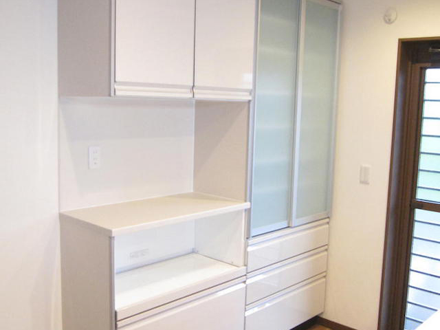 食器棚-伊那市境a様邸