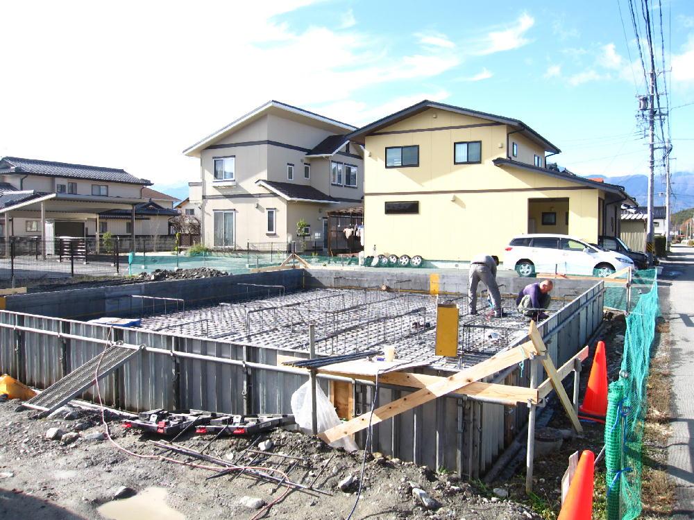 大野田邸②-基礎工事②