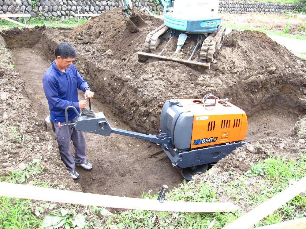 基礎工事-地盤補強