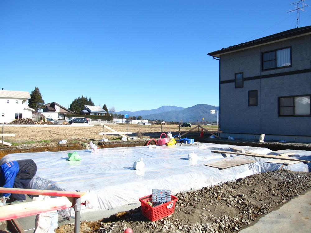 Tk様邸の基礎工事開始3