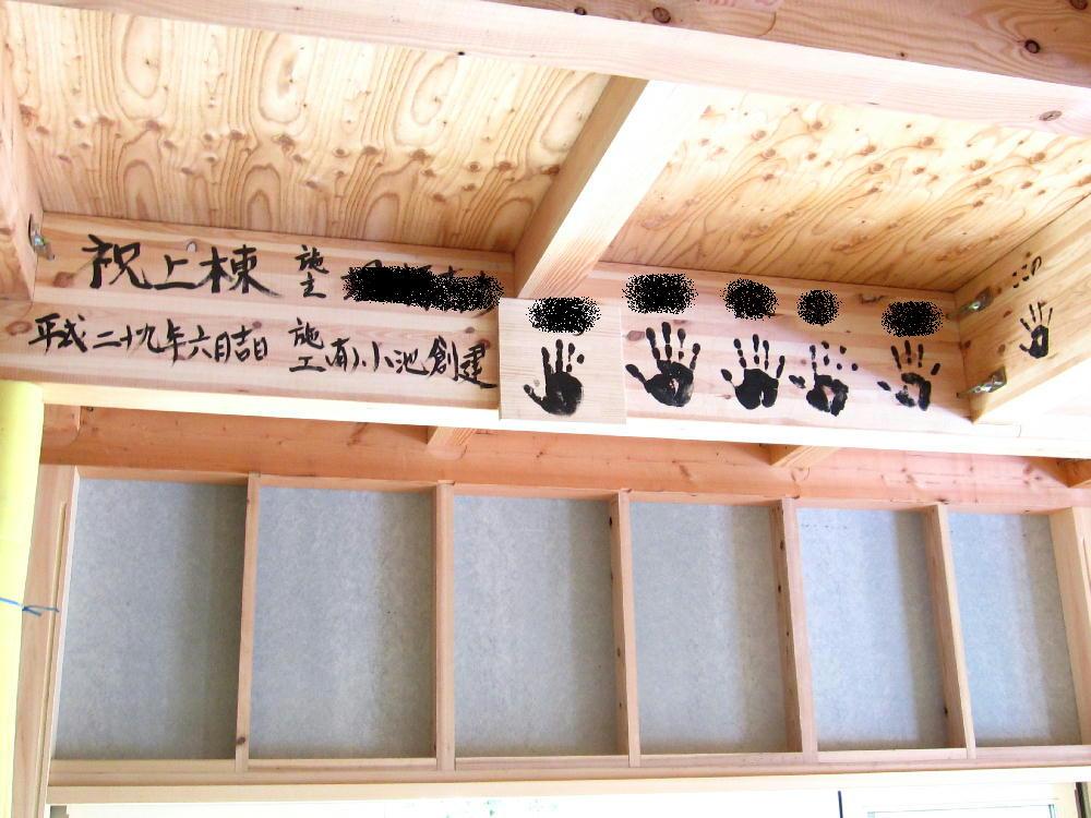 手形式 みんなの手形