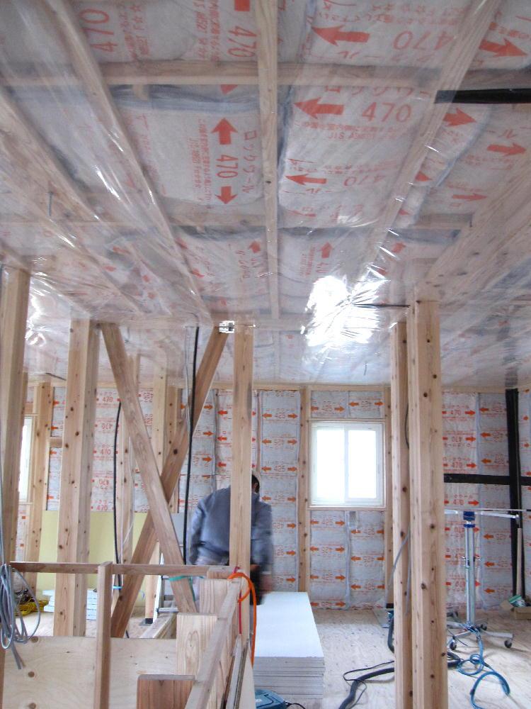 天井防湿工事