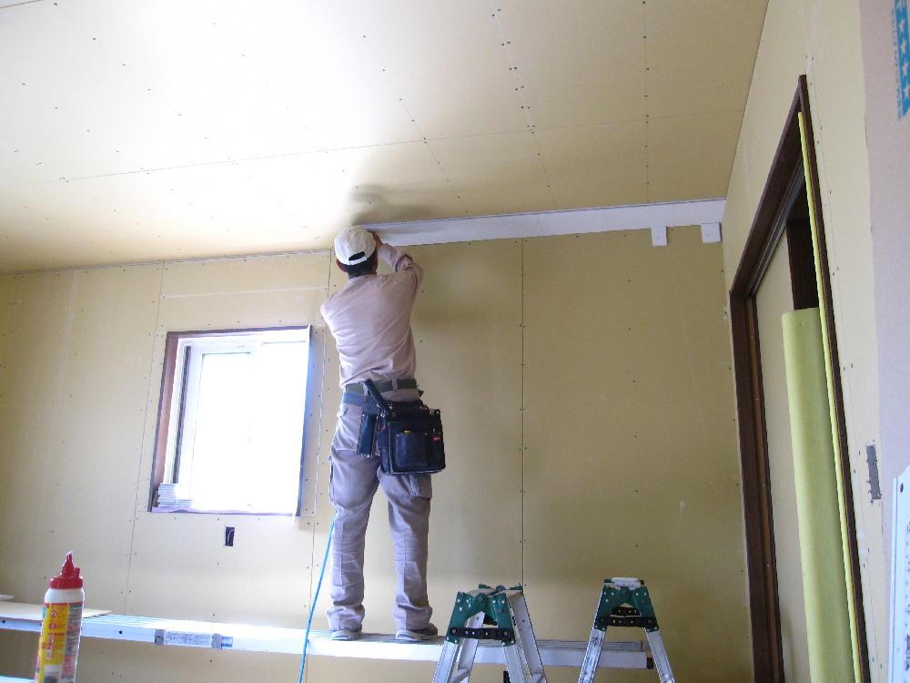 大工工事-天井仕上